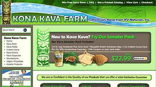 Kona Kava Farm